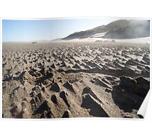South African Sand Mountains Poster