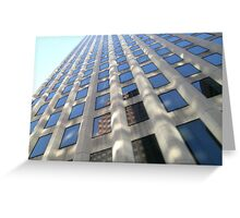 Towering Reflection Greeting Card