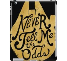 Flying Solo (gold) iPad Case/Skin