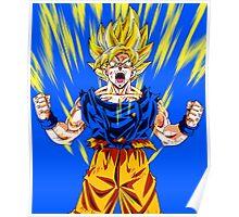 Goku Super Saiyan Spirit Poster
