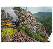 Mountain Top Train Ride Poster