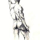 male life study by Arzeian