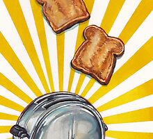 Toast and Toaster by Kelly  Gilleran