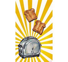 Toast and Toaster Photographic Print