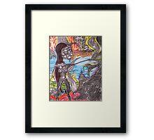 Once Upon A Dark Angel Framed Print