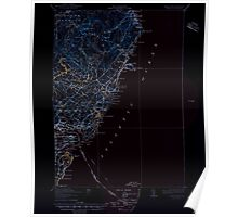 Maine USGS Historical Map York 461046 1920 62500 Inversion Poster