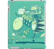Walk with a friend iPad Case/Skin