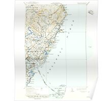 Maine USGS Historical Map York 461046 1920 62500 Poster