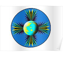 Earth Logo for Sale Poster
