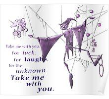 Schmendrick the Magician, sans background Poster