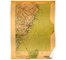 Maine USGS Historical Map York 807743 1920 62500 Poster