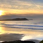 Polzeath Panorama by David Wilkins