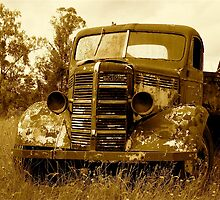 old truck  by ertanli