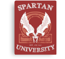 Spartan University Canvas Print