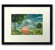 The Mice & The Cupcake Framed Print