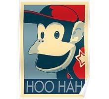 Diddy Kong - Hoo Hah Poster
