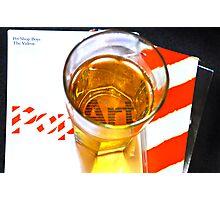 Glassful of pop! - Pet Shop Boys Tribute Artwork Photographic Print