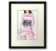 Fashion Model Framed Print