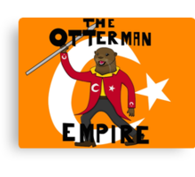 The Ottoman (otterman) Empire with title Canvas Print