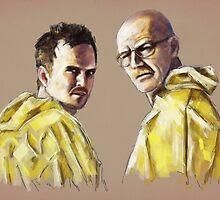 Walt & Jesse by tracieandrews