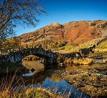 Slater bridge in the Lake District by focusonphotos