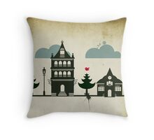 Casitas Throw Pillow