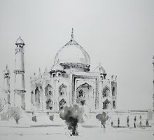 Taj Mahal by Sampa Bhakta