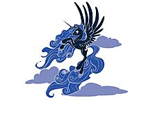 Dark Princess Luna Photographic Print