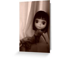 Sepia Darling Greeting Card