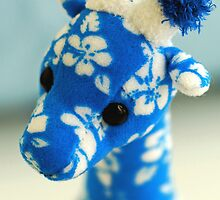 Blue Giraffe by Renee Hubbard Fine Art Photography