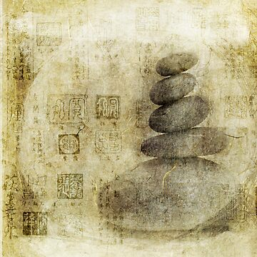 Stone Meditation by Antaratma Images