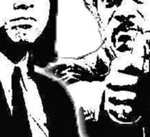 Pulp Fiction Black and White Sticker