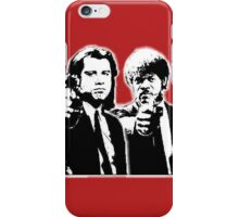 Pulp Fiction Black and White iPhone Case/Skin