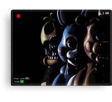 Five Nights at Freddy's Canvas Print