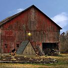 Old Wood Barn by Kate Adams