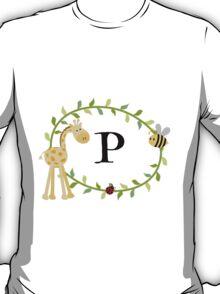 Nursery Letters P T-Shirt