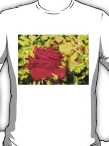 Multiexposure Red rose 3 T-Shirt