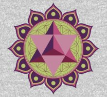 Merkaba with Flower of Life Kids Clothes