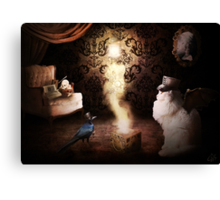 Cat steampunk Canvas Print