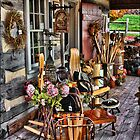 Antique Shop Porch by R Hawkins