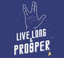Live Long and Prosper - Leonard Nimoy - Star Trek - in Colours by aditmawar