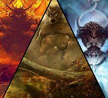 Chaos Gods by CursedMoon