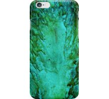 Green Wood Abstract iPhone Case/Skin