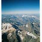 Andes From Above. Sth America. by jtree