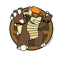 Smash Brothers Brown Bowser Photographic Print