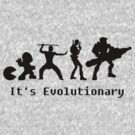It's Evolutionary (with text) by Marc Payne Photography
