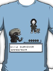 Wild SURVIVOR appeared! T-Shirt