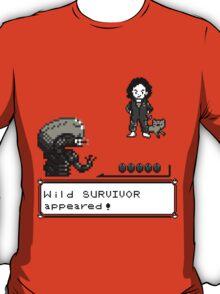 Wild SURVIVOR appeared! T-Shirt