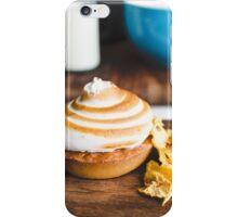Lemon meringue pie iPhone Case/Skin