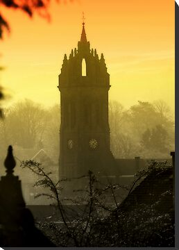 Peebles Old Parish Church by Robin Brown